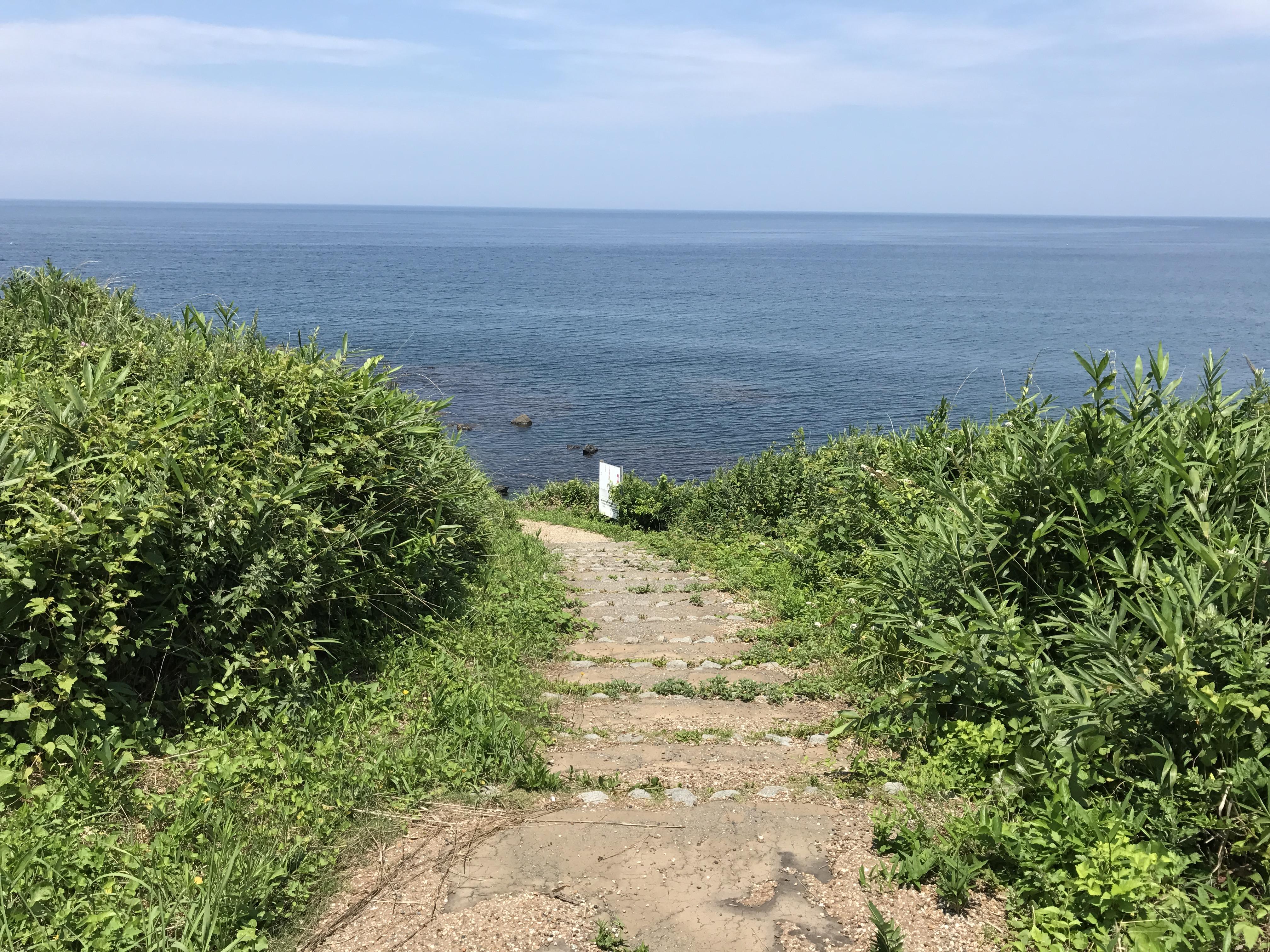 三国海浜自然公園周辺遊歩道
